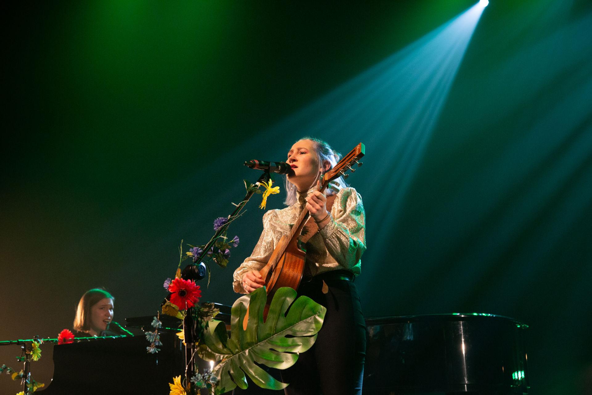 Claudie Létourneau- Sur la scène de Sherbrooke